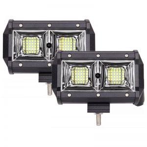 Светодиодная фара 54W рабочий свет для спецтехники.