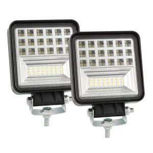 Светодиодные фары 49W рабочий свет для спецтехники, грузовиков Маз Камаз и т.д. 12V-24V