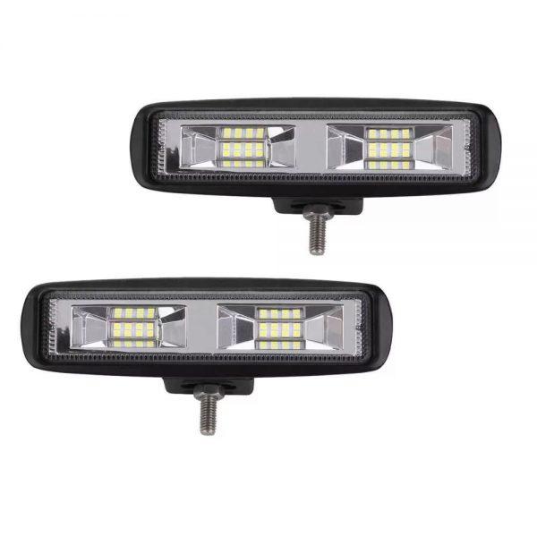 Фара светодиодная 20W рабочий свет для спецтехники и автомобилей