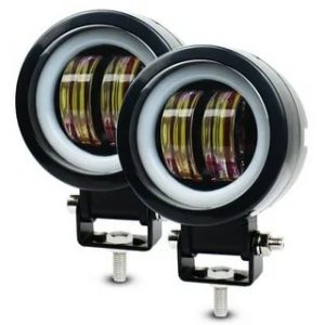 Фара светодиодная 20W 12-24V круглая